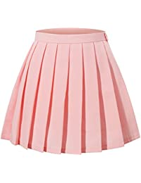 Women's Japan High Waisted Pleated Cosplay Costumes...