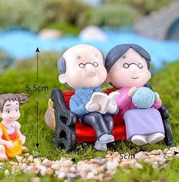 Mini silla Decoración para el hogar Miniaturas Hadas Adornos de jardín Figuras Juguetes DIY Acuario/Casa de muñecas Accesorios Decoración: Amazon.es: Bricolaje y herramientas