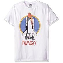 NASA Space - Playera de Manga Corta para Hombre
