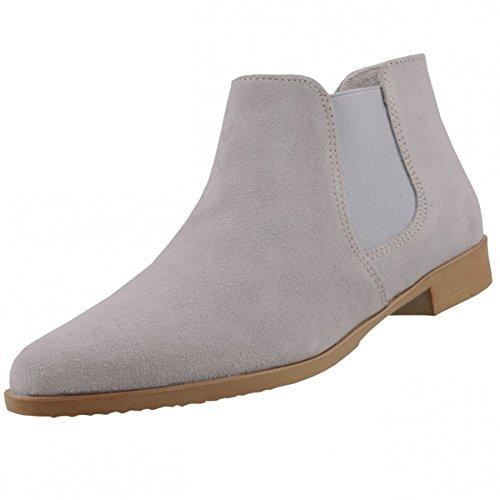 Tamaris Damen Chelsea Boots Grau
