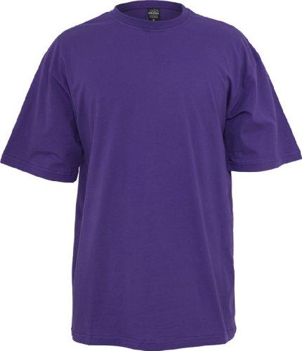 Urban Classics Herren TB006 großes T Shirt Kurzarm T Shirt, Lila, One Size
