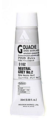 Holbein Acryla Gouache (Neutral Grey #2) 1 pcs sku# 1873097MA