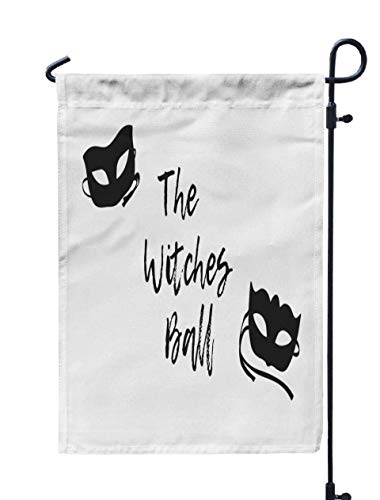 Shorping Easter Garden Flag, 12x18Inch Drawn Mask and Creative Ink Art Work Actual Drawing Artistic for Holiday and Seasonal Double-Sided Printing Yards Flags -