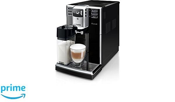 Saeco Incanto HD8916/09 - Cafetera (Independiente, Máquina espresso, 1,8 L, Molinillo integrado, 1850 W, Negro): Amazon.es: Hogar