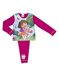 Dora the Explorer Infant Girls Pyjamas Various Designs - 18 months to 5 years