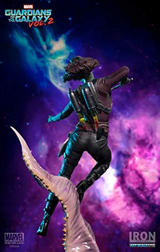 "41iIM6CvU0L Gamora ""Guardians of the Galaxy Vol. 2"" Iron Studios Battle Diorama Series 1/10"
