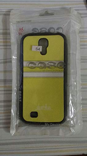 R.S.Inc Samsung Galaxy S4 Soft Silicon/Leather Cases Trost   Black.Yellow