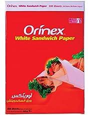 Orinex Sandwich Paper, 500Sheet, White