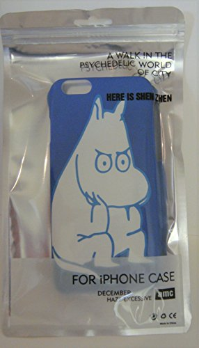 Moomin Character Hard Type Case for iPhone 6 (Moomin)