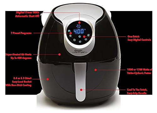 power air fryer recipes pdf