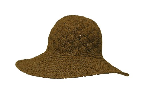 Ladies Decorative Straw Hat, 44B1]()