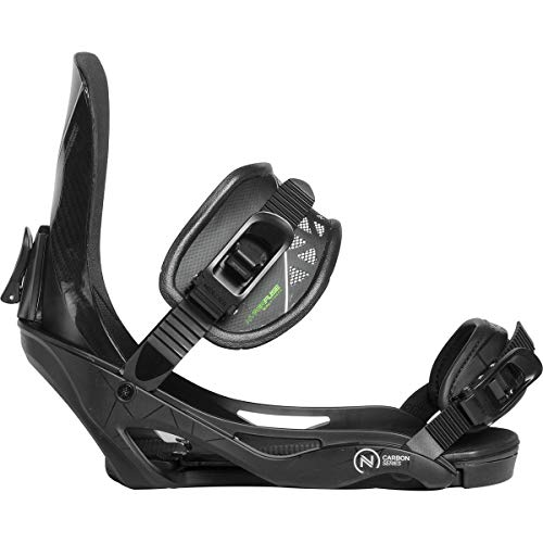 Nidecker Carbon Series Snowboard Binding - Men's Black, S/M