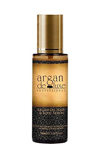 Argan DeLuxe Arganöl Haaröl Körperöl Serum, 100ml, Premium Haar und Körper Pflege
