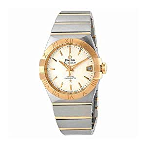 Omega Constellation Automatic White Opaline Mens Dial Watch 123.20.38.21.02.006