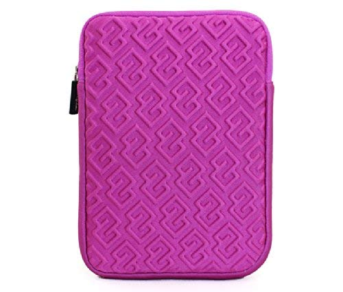 KolorFish Funky Printed Slim Flip PU Leather Smart Stand Case Cover for 2019 Apple iPad Mini 5 7.9 Inch  iMaze Pink