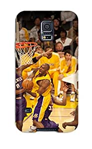 Best 2340775K838156208 los angeles lakers nba basketball (64) NBA Sports & Colleges colorful Samsung Galaxy S5 cases