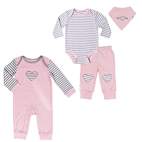 Twin Baby Girls' Clothing Set 0-3 Month. Bodysuit