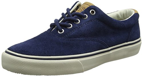 Sperry Top-sider Mens Striper Ll Cvo Fashion Sneaker Navy Suede