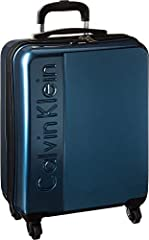 """Make your traveling a little easier with the Manhattan 2.0 21"""" Hardside Spinner. Made of polycarbonate.   Zipper closure.  Telescoping handle adjusts with the push of a button. Top carrying handle.  Lined interior features organizational zip ..."""