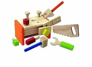 Wonderworld - Caja de herramientas de juguete (madera)