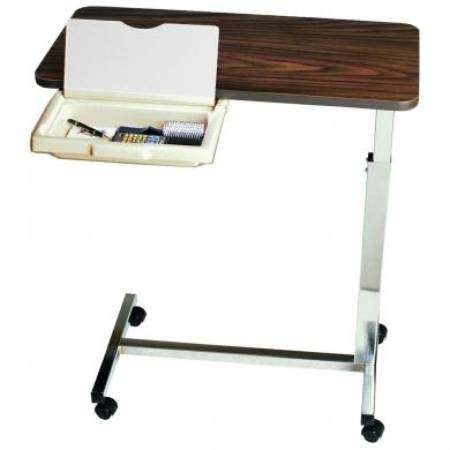 Amfab Company LLC Overbed Table With Vanity
