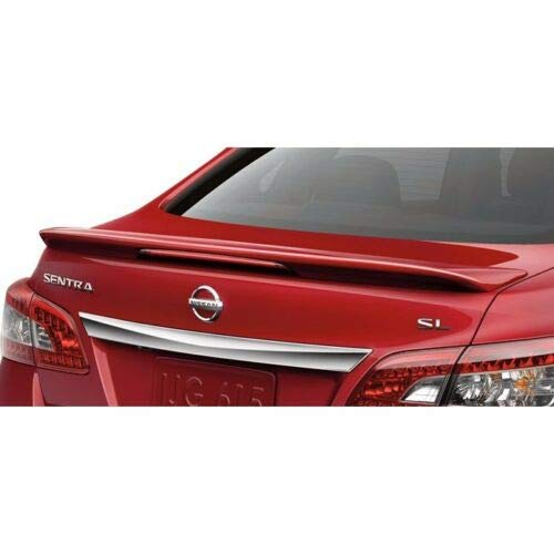 Factory Style Spoiler made for the 2013-2018 Nissan Sentra Sedan Painted in the Factory Paint Code of Your Choice #531 NAC ()