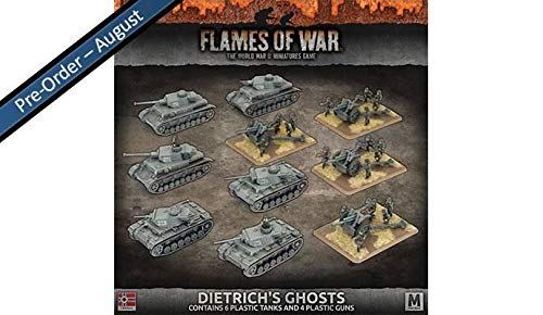 Flames of War: Mid War: German: Dietrich's Ghosts Army Box (GEAB16) from Flames of War
