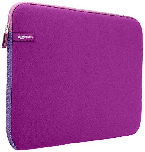AmazonBasics 15 to 15.6-Inch Laptop Sleeve - Purple