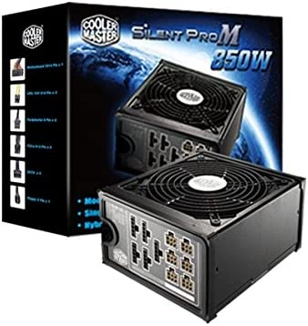 Cooler Master Silent Pro M 850W 80 Plus Bronze Power Supply with Modular Cables RS850-AMBAJ3-US