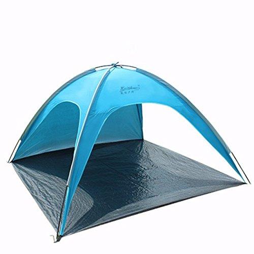 Bestwind 4 Personen Große Strand Ultraleicht Camping Zelt Outdoor Faltbare Markise Tenda Wind-Besteändig Barraca Carpas Blau Rosa Tente Anti-UV