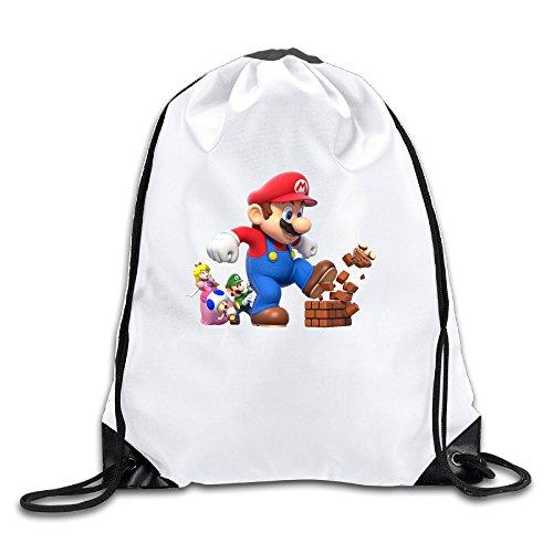 [LHLKF Super Mario Bro One Size New Design Drawstring Bags] (Super Ray Costume)