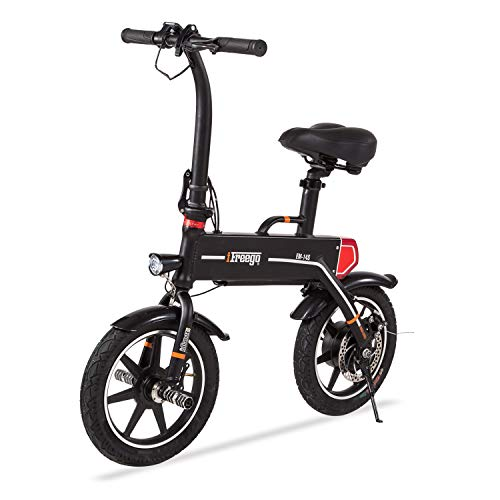 (Freego Mini Folding Electric Bike for Adult, 14-inch Tire, Lightweight, Rechargeable and Collapsible Commuter Bicycle)