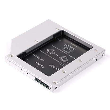 ORICO L127SS a discos duros de soporte de disco duro SSD notebook SATA 12,7 mm de aleación de aluminio magnesio stent By AFUNTA: Amazon.es: Informática