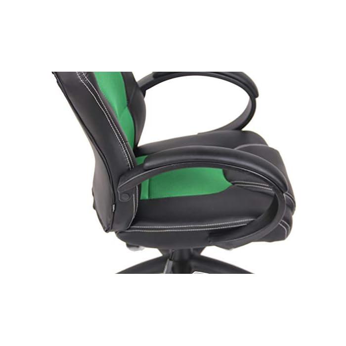41iIRtuv5aL CARACTERÍSTICAS: La silla Gaming Fire tiene un acolchado de alta calidad y mezcla el tapizado en cuero sintético y tela para ofrecer un plus de comodidad. La silla tiene un estilo deportivo, es regulable en altura, giratoria e incluye un mecanismo de balanceo para ofrecer más libertad de movimientos. POSTURA SALUDABLE: Con la silla gaming Fire se consigue mantener una postura cómoda durante largos periodos de tiempo, además, gracia a su diseño claro y sus definidas formas hacen que se adapte perfectamente a la postura de trabajo. Ofreciendo así el máximo confort. DIMENSIONES: La silla Gaming tiene las siguientes medidas: Altura total: 110 - 120 cm I Ancho total: 62 cm I Profundidad total: 66 cm I Altura del asiento: 49 - 59 cm I Profundidad del asiento: 50 cm I Altura del respaldo: 71 cm I Altura del resposabrazos des del suelo: 72 - 82 cm I Peso: 16 kg.