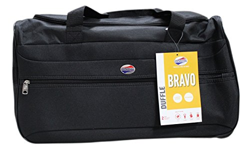 American Tourister Polyester 56 cms Black Travel Duffle (BRAVO57BLK)   Amazon.in  Bags 56a9587066123