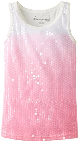 Dream Star Little Girls Sequin Neon Pink