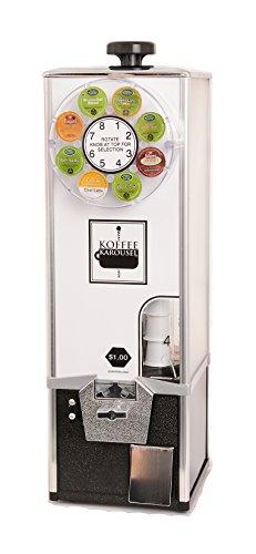 Koffee Karousel K-Cup Vending Machine (4-Quarter Coin Mec...