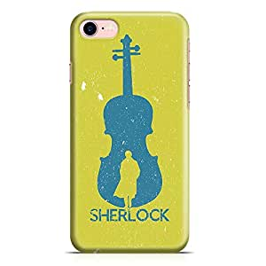 Loud Universe iPhone 7 Case Sherlock Holmes Case Music Tv Show Durable Scratch Resistant Light Weight Wrap Around iPhone 7 Cover