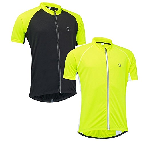 Tenn Mens Sprint S/S Cycling Shirt/Jersey - Hi-Viz Yellow - XL (T-shirt Jersey Cycling)