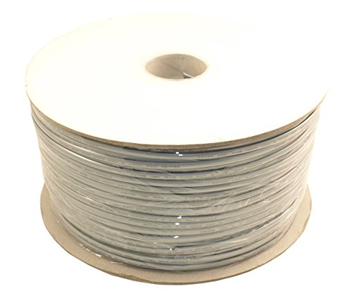 MyCableMart 1000Ft RJ11 Modular Telephone Cable, (6P4C), 4 Conductor/2 Lines, UL