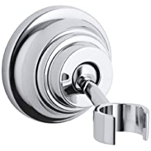 KOHLER K-10599-CP Bancroft Wall-Mount Handshower Holder, Polished Chrome