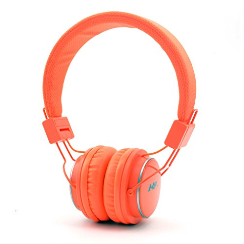 Granvela Q8 Foldable Bluetooth Headphone, Orange