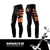 sponeed Bicycle Pants for Men Cycling Tights MTB