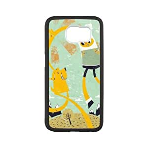 Lycase(TM) Adventure Time Cartoon Custom Cell Phone Case, Adventure Time Cartoon SamSung Galaxy S6 Case