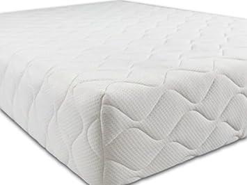 Chelseaknightz - Colchones ortopédicos híbridos de espuma viscoelástica para dormir (3G, doble tamaño king, cama individual, apoyo adicional), Blanco, ...
