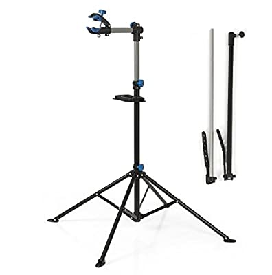 """Stand Repair Bike Tool Bicycle Adjustable 43"""" To 75"""" Pro Rack Repair Stand With Telescopic Arm Cycle"""