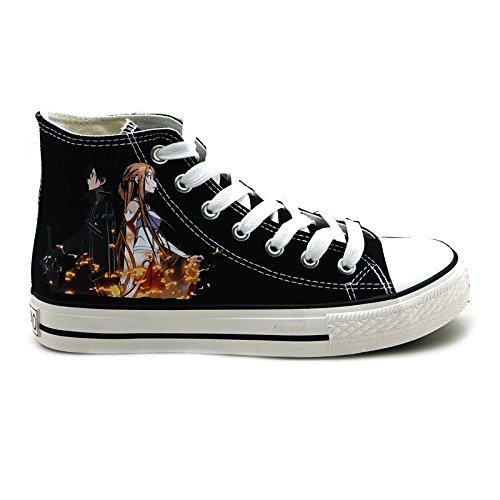 Sao Sword Art Online Scarpe Cosplay Scarpe Sneakers In Tela
