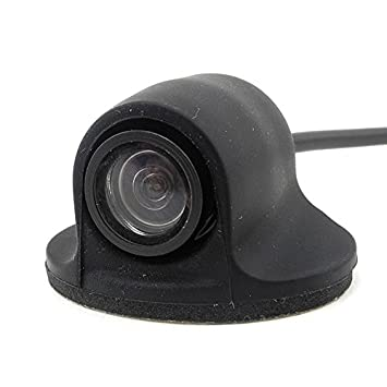 iNewcow Mini Universal Car Front View Camera with CCD WaterProof IP67 Wide Angle 170 Degrees Parking Lines