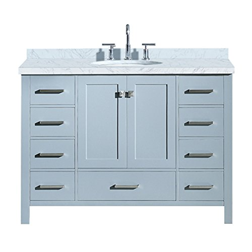 Fairmont Designs Bath Vanities - ARIEL A049S-VO-GRY Cambridge 49