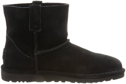 UGG - Bottes CLASSIC UNLINED MINI PERF 1016852 - black, Taille:39